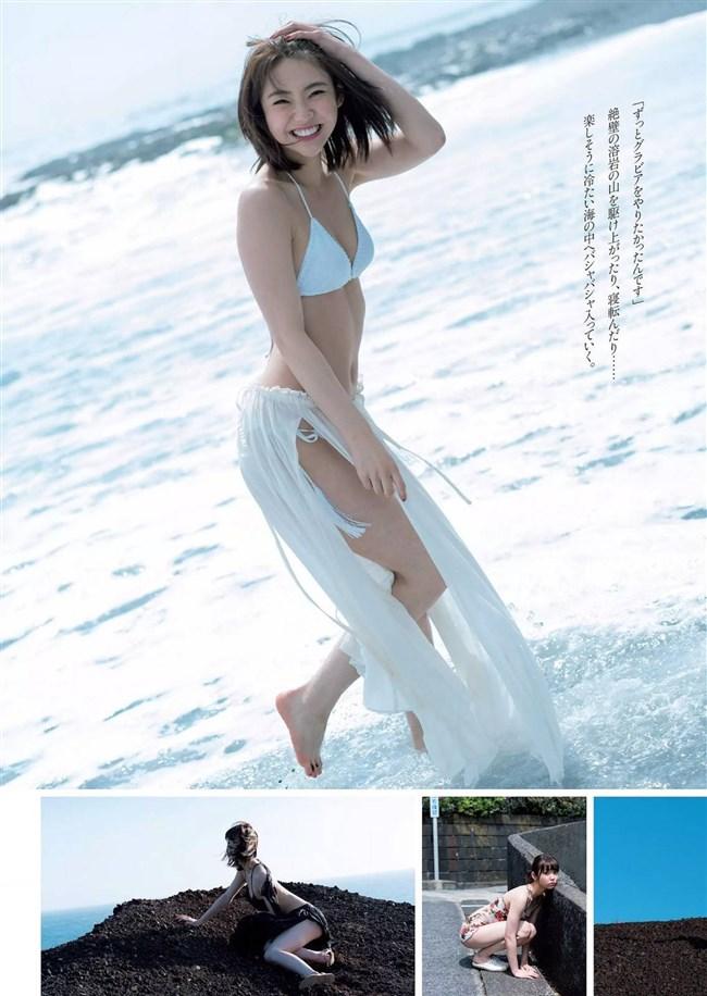 山谷花純~週プレの最新水着グラビアはエロさ極まって立派なオカズです!0005shikogin