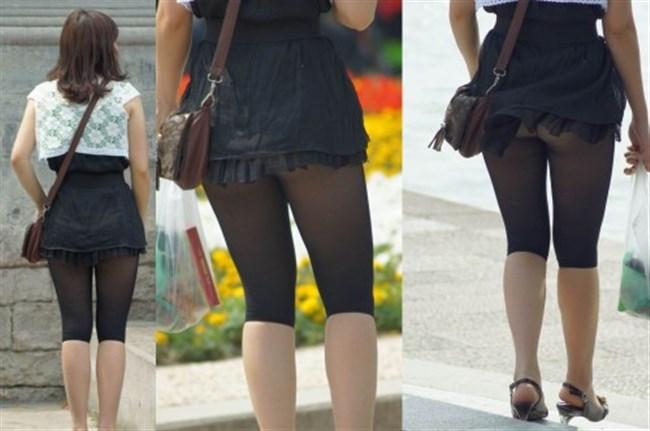 強風の日のスカート女子の後ろはパンチラパラダイスwww0031shikogin