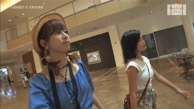小島瑠璃子~グァムロケでのオッパイ強調パイスラ姿がエロくてドキドキ!0003shikogin