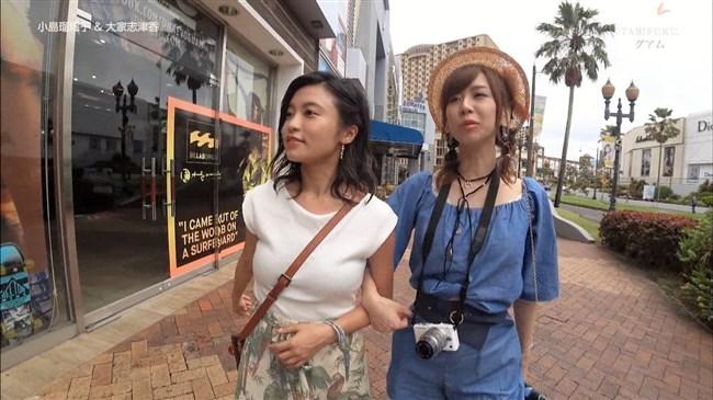 小島瑠璃子~グァムロケでのオッパイ強調パイスラ姿がエロくてドキドキ!0014shikogin