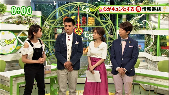 田中みな実~情報番組ひるキュン!でのオッパイ強調の姿がエロくて最高!0006shikogin