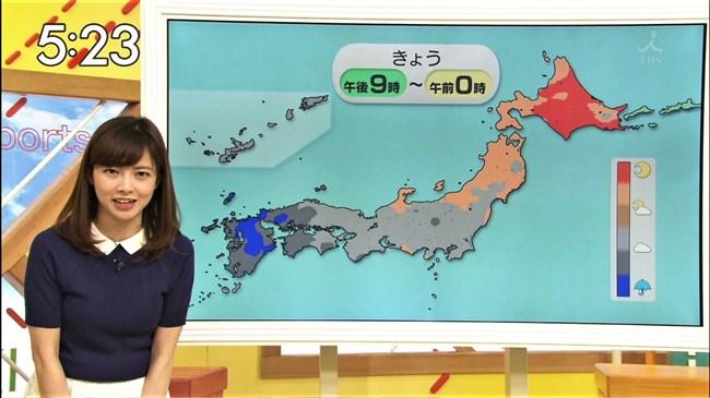 尾崎朋美~TBSはやドキ!のお天気お姉さんは可愛くてオッパイの膨らみもエロい!0005shikogin