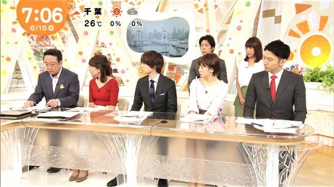 永島優美~赤いピタピタの服で巨乳を強調!美しさも極まって超魅力的!0013shikogin
