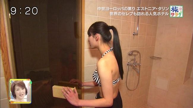 江田友莉亜~旅サラダでの水着姿がオッパイ大きく超エロい身体で興奮!0008shikogin
