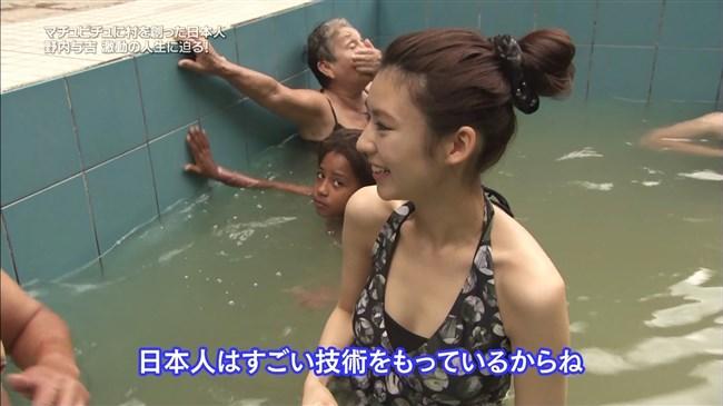 江田友莉亜~旅サラダでの水着姿がオッパイ大きく超エロい身体で興奮!0003shikogin