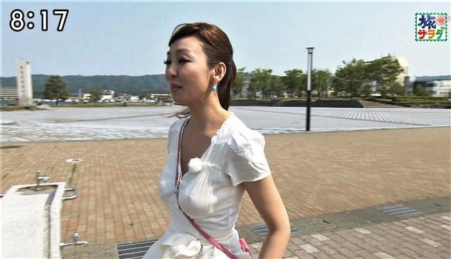 神田うの~旅サラダにて巨乳をアピールし乳首ポチまで出してしまった放送事故!0006shikogin