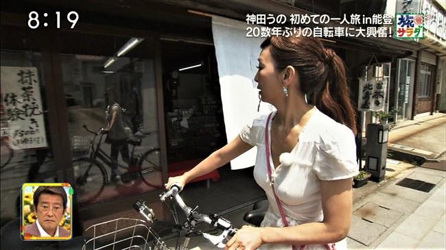 神田うの~旅サラダにて巨乳をアピールし乳首ポチまで出してしまった放送事故!0007shikogin