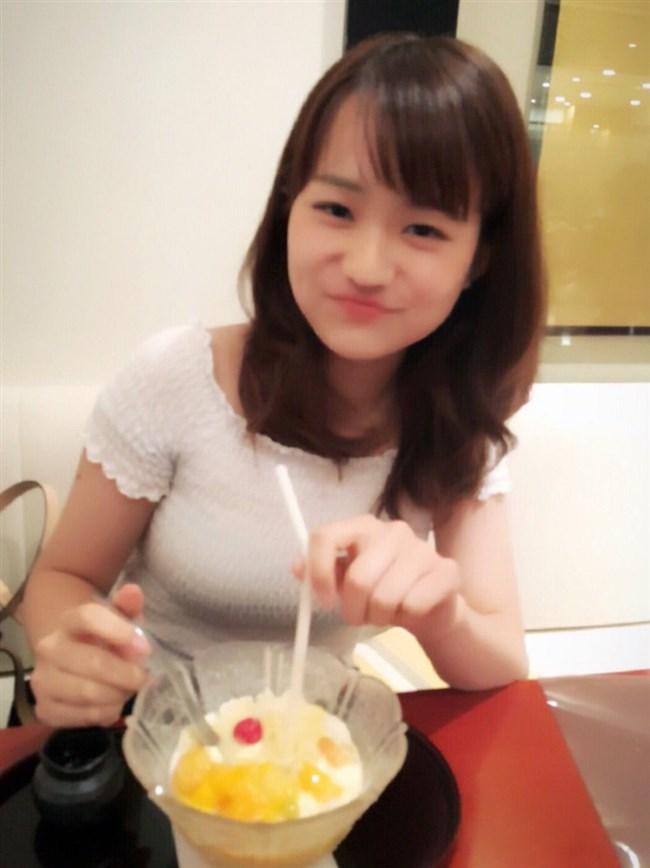 篠原梨菜~可愛過ぎるお天気お姉さんのグラビアが巨乳過ぎて即オッキ!0011shikogin