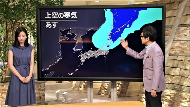 森川夕貴~報道ステーションでのノースリーブ服の胸の膨らみが超エロい!0002shikogin