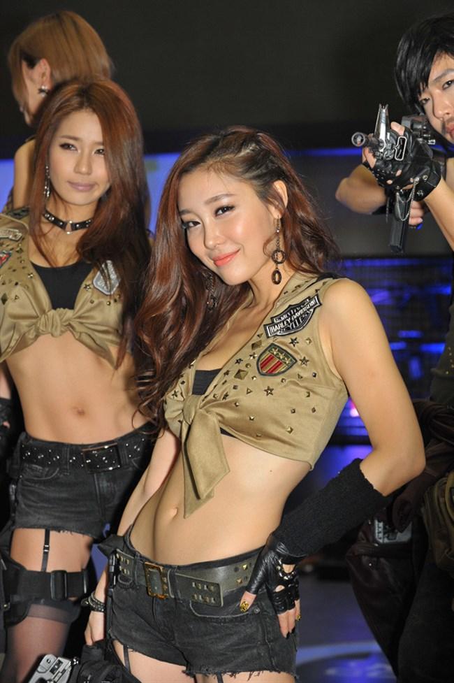 韓国のイベントコンパニオンがレベル高すぎて草0020shikogin