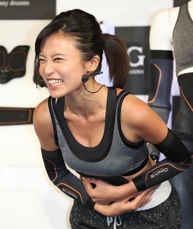 小島瑠璃子~SIXPAD新製品発表会で登場したこじるりがエロ過ぎて卒倒!0006shikogin