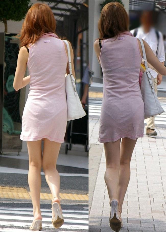 パンツの柄までくっきりさせて男どもの視線を集める女性wwww0001shikogin
