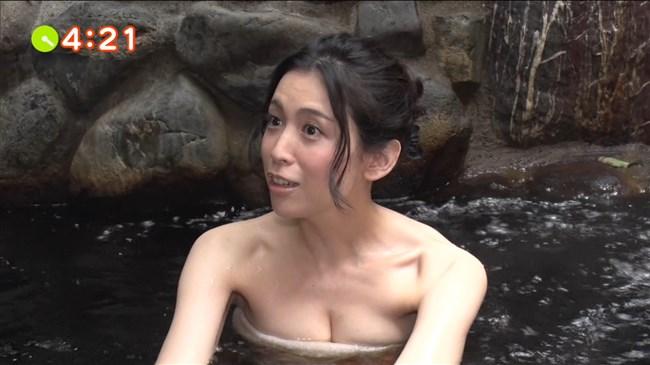 雛形あきこ~テレビ東京の温泉ロケでバスタオルからオッパイ半分見えてた!0002shikogin