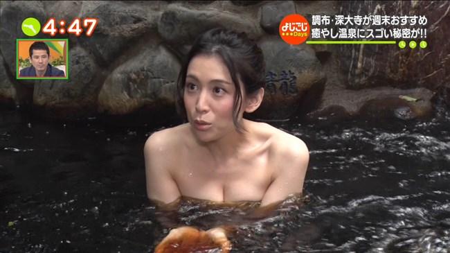 雛形あきこ~テレビ東京の温泉ロケでバスタオルからオッパイ半分見えてた!0011shikogin