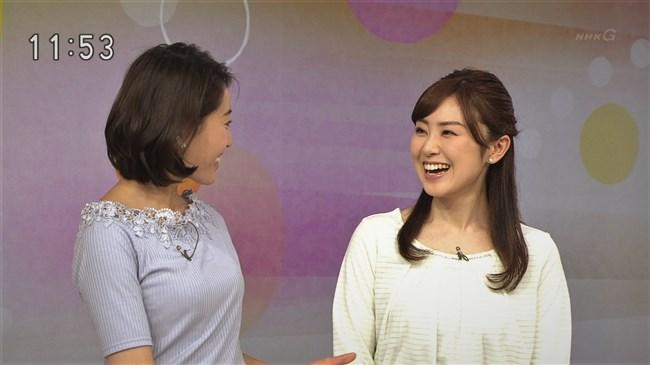 清水明花~NHKひるまえほっとで柔らかそうな胸の膨らみに目が釘付けに!0011shikogin