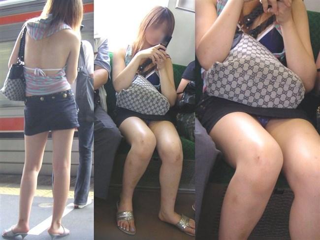 電車内でスマホに夢中になり過ぎて下半身ゆるゆるなJKwwww0002shikogin
