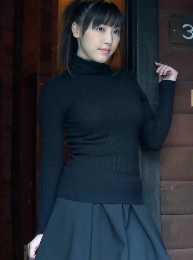 巨乳娘がニット服を着るとガチでえちえち過ぎwwwwww0028shikogin