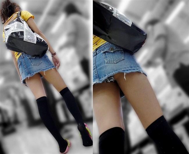 二度見、三度見当たり前!スカート丈の限界近い超ミニスカ娘www0010shikogin