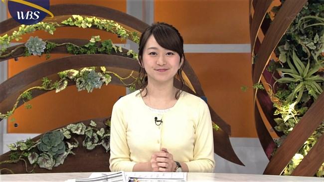 片渕茜~可愛い微乳アナのニット服でのプチ膨らみが何かエロくてドキドキ!0002shikogin
