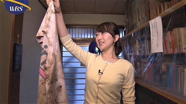 片渕茜~可愛い微乳アナのニット服でのプチ膨らみが何かエロくてドキドキ!0007shikogin