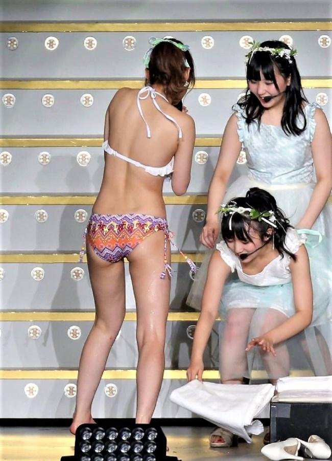 矢吹奈子[HKT48]~さっしー公開熱湯風呂のアシスタントでまさかの丸見え胸チラ!0002shikogin