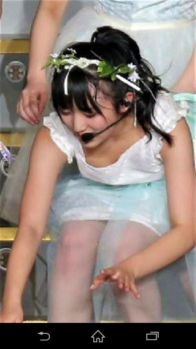 矢吹奈子[HKT48]~さっしー公開熱湯風呂のアシスタントでまさかの丸見え胸チラ!0003shikogin
