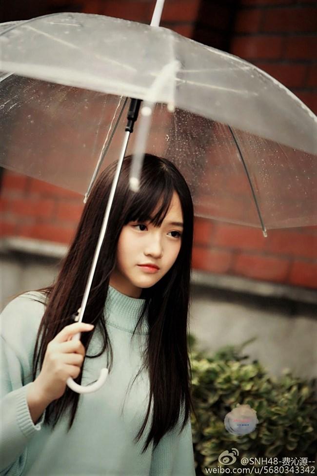 フェイチンユェン 費沁源[SNH48]~透き通るような美少女ぶりが神懸かり的!レベルが違い過ぎる!0013shikogin