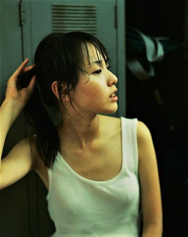 戸田恵梨香~貧乳の胸チラが逆にエロくて超ドキドキ!乳首が見えそう!?0003shikogin