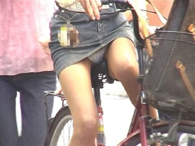 ミニスカ女子が自転車に乗ると高確率でパンチラする法則www0005shikogin