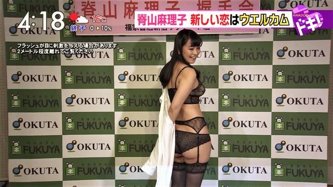 脊山麻理子~肉付きが良くなって美熟女と化し下着姿で公の舞台にて挑発!0007shikogin