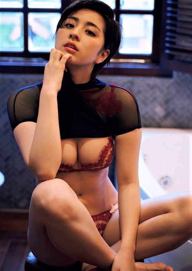 柳ゆり菜~ショートヘアにしたグラビア水着姿がエロ可愛くて即オッキ!0010shikogin
