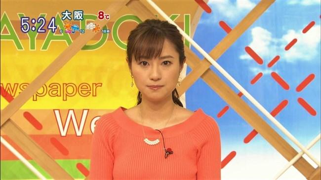 伊東楓~TBSの新人アナが超可愛い!ニット服で胸の膨らみもエロく巨乳だ!0003shikogin