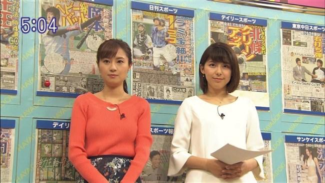 伊東楓~TBSの新人アナが超可愛い!ニット服で胸の膨らみもエロく巨乳だ!0002shikogin