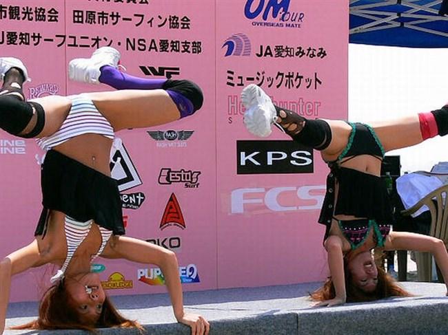 マンチラ寸前!女ダンサーのえちえちパフォーマンスwww0003shikogin