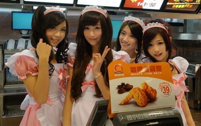 台湾のマック店員が可愛すぎて日本人女性涙目wwww0015shikogin