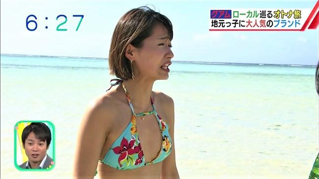 吉川亜樹~番組内で小さめの水着姿で悩殺!なんてイイ身体なんだと超興奮!0011shikogin