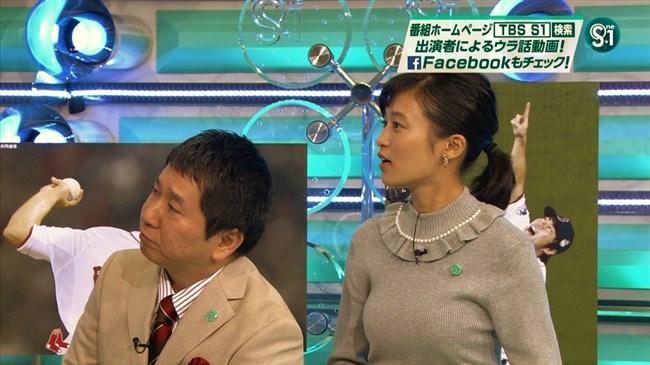 小島瑠璃子~サタデープラスでのニット服姿がオッパイ強調で股間直撃されたぞ!0010shikogin