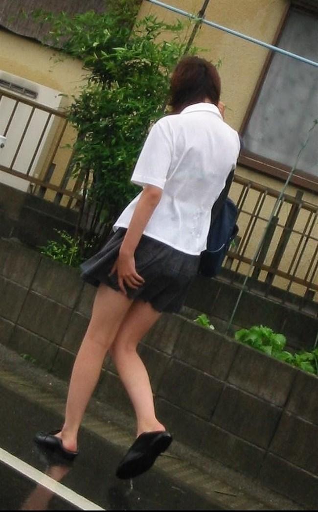夏服JKが線状降水帯の集中豪雨に狙われてえちえちにwwww0005shikogin
