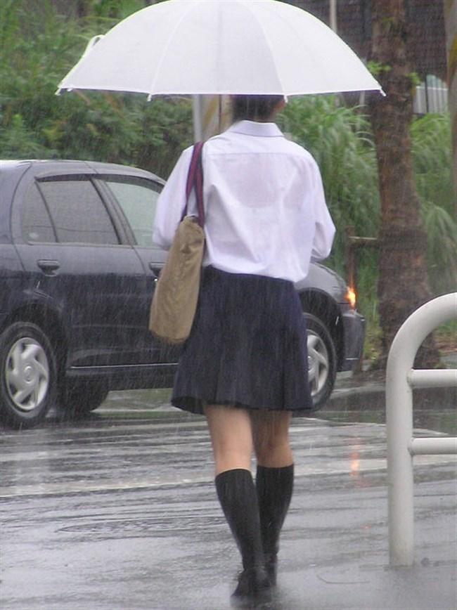 夏服JKが線状降水帯の集中豪雨に狙われてえちえちにwwww0012shikogin