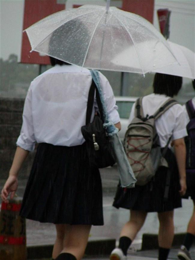 夏服JKが線状降水帯の集中豪雨に狙われてえちえちにwwww0013shikogin