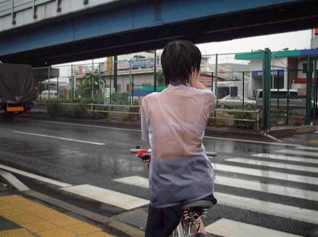 夏服JKが線状降水帯の集中豪雨に狙われてえちえちにwwww0027shikogin