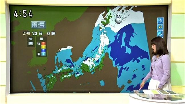 渡辺蘭~元CAでムッチリボディーの気象予報士がオッパイ強調でエロ過ぎ!0005shikogin