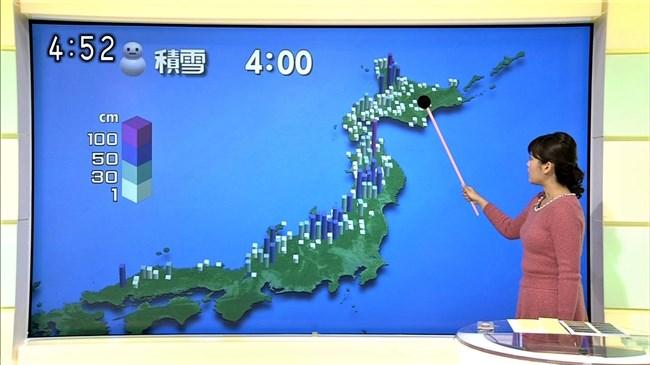 渡辺蘭~元CAでムッチリボディーの気象予報士がオッパイ強調でエロ過ぎ!0009shikogin