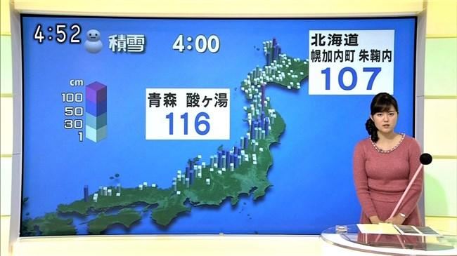 渡辺蘭~元CAでムッチリボディーの気象予報士がオッパイ強調でエロ過ぎ!0011shikogin