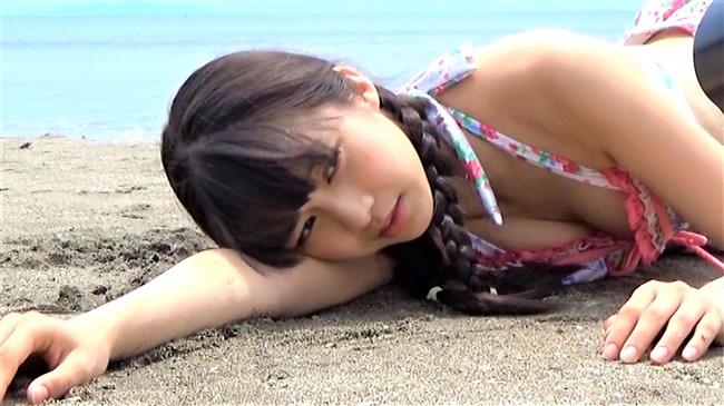 牧野真莉愛~ファースト写真集での胸の谷間丸出しの水着姿が極エロでヌケる!0003shikogin