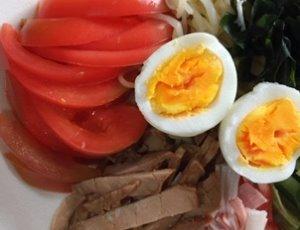 冷やし中華 3の卵