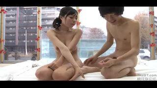 【女子大生セックス】スレンダーでHな巨乳の女子大生素人の、セックス羞恥プレイが、混浴温泉で!!抜群のプロポーション!