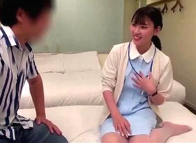 【童貞】美人な看護師ナースの、中出しエロ動画!【看護師、ナース動画】
