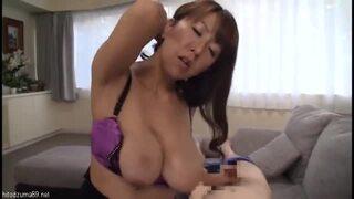 巨乳の熟女、藤下梨花のセックスフェラ抜きエロ動画。【藤下梨花動画】