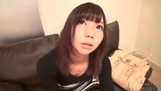 スレンダー激カワな美乳で巨乳の美少女素人の、騎乗位フェラ無料エロ動画!【美少女、素人動画】